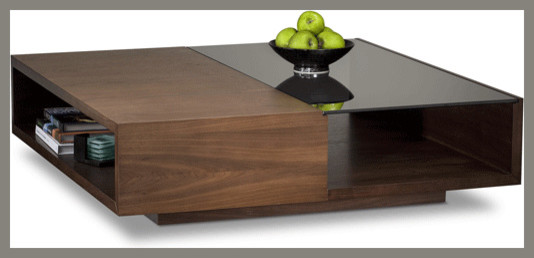 BDI - Xela 1140 Square Coffee Table - modern - coffee tables - by ...