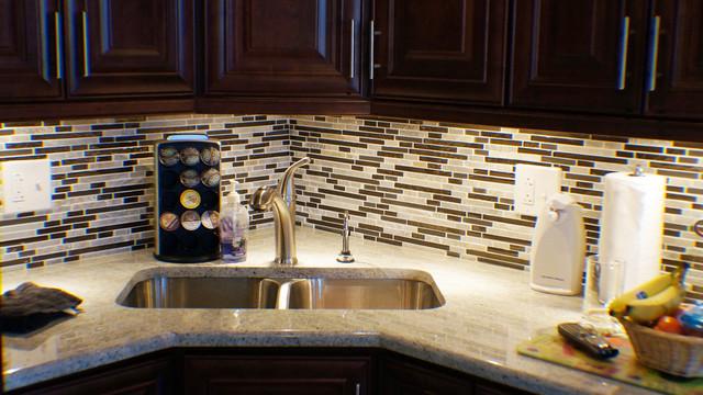 Kitchen. Granite Counter top - Buchta contemporary-kitchen-sinks