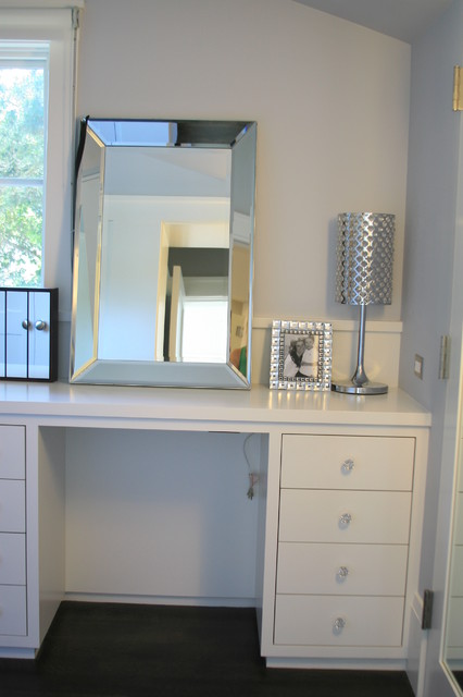 Custom Vanity contemporary-bedroom