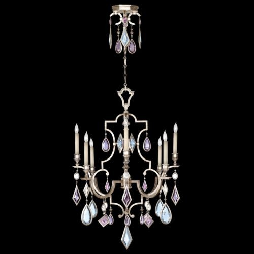 Encased Gems 8 Light Chandelier traditional chandeliers