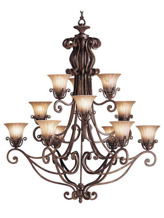 Grandiose Chandeliers - Cottage Grove - Chandelier 12Lt