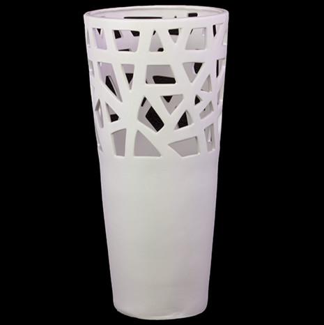 Mocha Uk Outline Vase