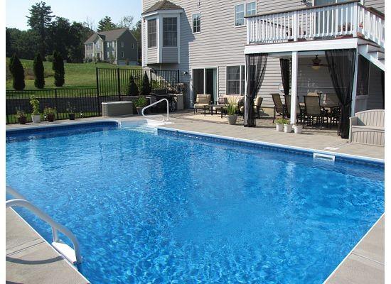 backyard pool traditional-pool