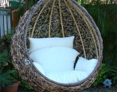 Egg Swing Chair contemporary-outdoor-chairs