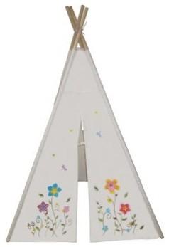 Dexton 6 ft. Flower Teepee modern-baby-and-kids