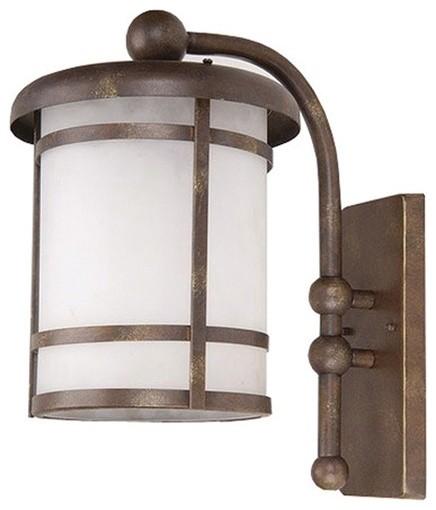 Heavenly 1 Light Outdoor Wall Lantern modern-lighting