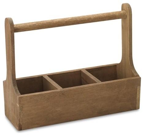 Alfa img - Showing > Wood Utensil Caddy Basket