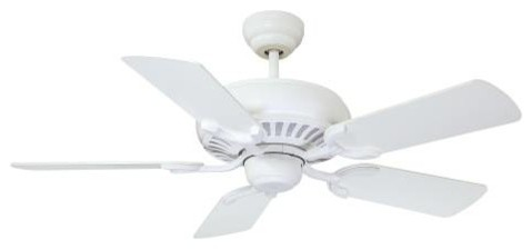"""Savoy House Pine Harbor 42"""" Ceiling Fan in Matte White contemporary-ceiling-fans"""