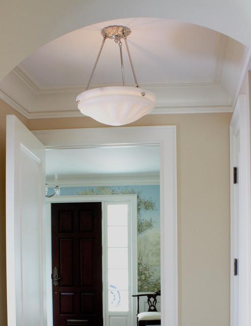 hallway ceiling light traditional flush mount ceiling lighting. Black Bedroom Furniture Sets. Home Design Ideas