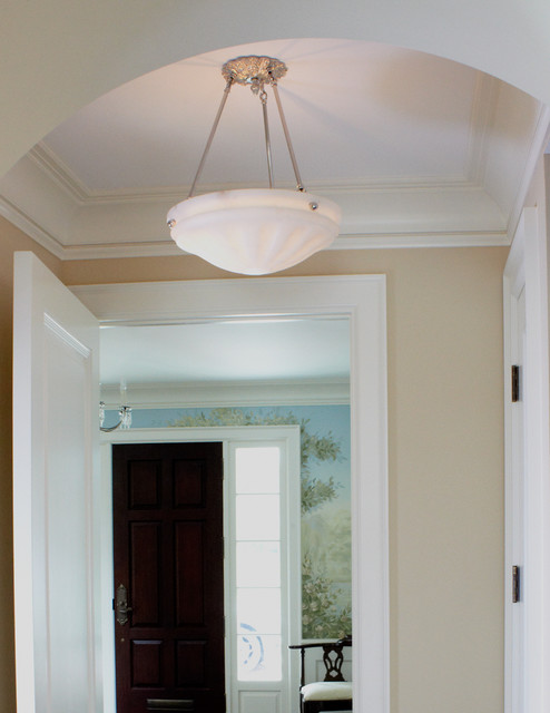 Ceiling Lamps For Hallways : Hallway ceiling light traditional flush mount