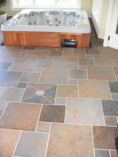 Floors traditional