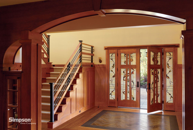 Doors and millwork traditional-front-doors