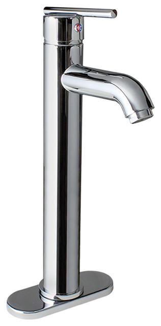 Chrome Vessel Faucet traditional-kitchen-faucets