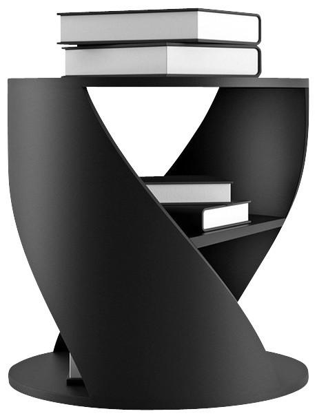 Nono Mydna Small Table Black Contemporary Side Tables