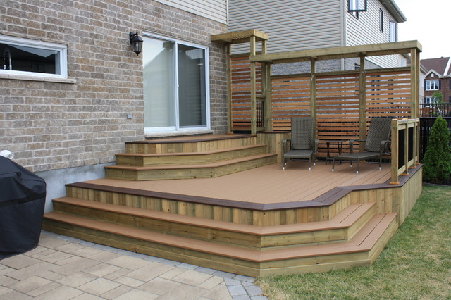 Patio Deck-Art Designs® NEW 2013 contemporary-deck