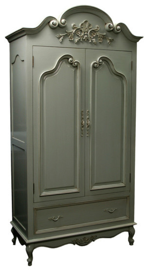 Country French Armoire traditional-armoires-and-wardrobes