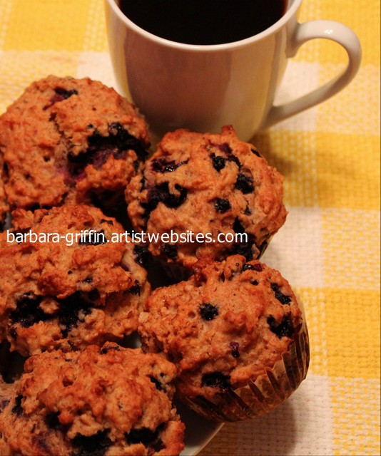 Snack Time - Muffins and Coffee contemporary