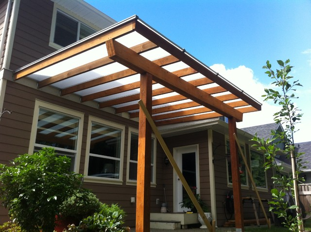Pergola with Acrylite sheets