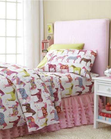 Painted Ponies Flannel Bedding modern-kids-bedding
