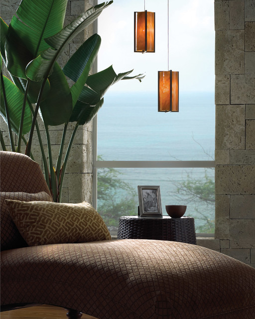 Tech Lighting Low-Voltage Essex Pendant asian-living-room