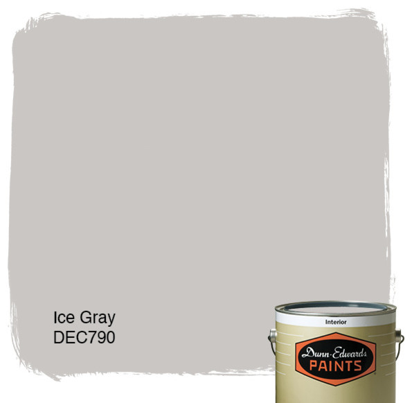 Dunn Edwards Paints Ice Gray Dec790