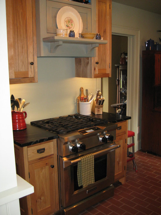 Knotty hickory cabinets home design ideas pictures remodel and decor kitchen design ideas - Knotty hickory kitchen cabinets ...