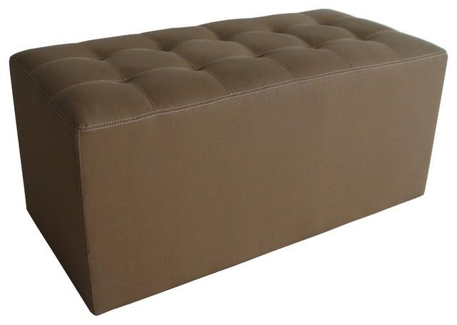 Canvas Storage Boxes For Wardrobes: Valencia Canvas Bench
