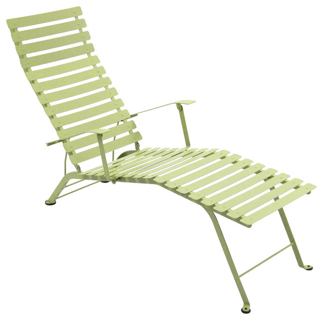 Fermob Bistro Chaise Lounge contemporary-outdoor-chaise-lounges