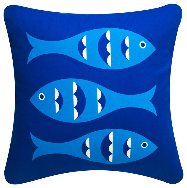 Modern Eco Coastal Throw Pillows modern-decorative-pillows