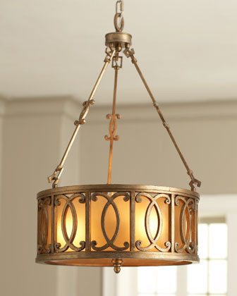 John-Richard Collection Circle Drum Chandelier traditional chandeliers