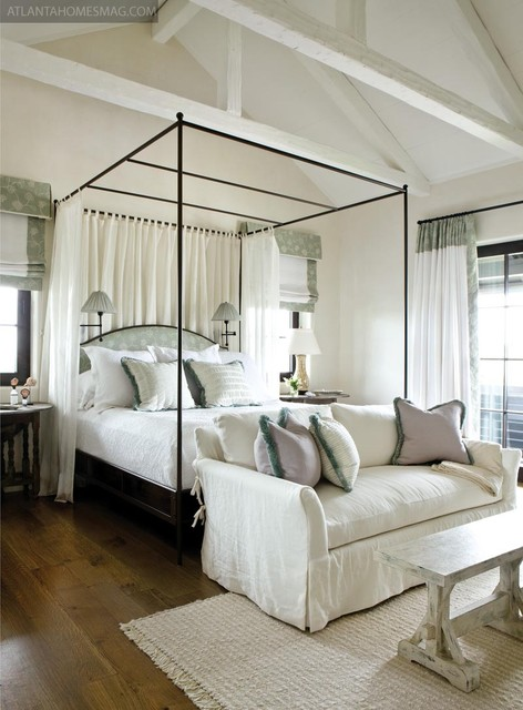 Comfort on the Coast as featured in Atlanta Homes & Lifestyles contemporary bedroom