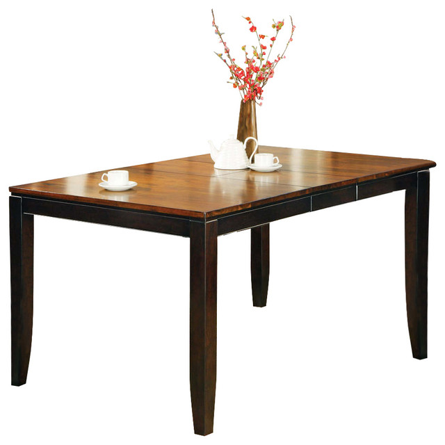 Abaco table 12in butterfly leaf contemporary dining for Round table with butterfly leaf