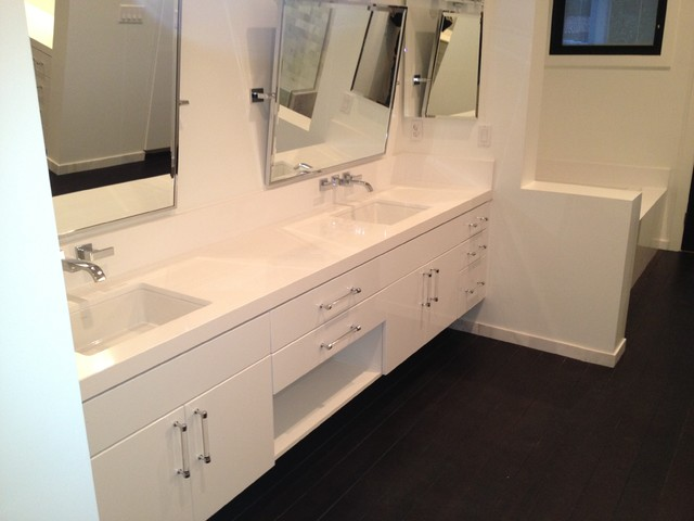 Bathroom Remodels and Renovations contemporary-vanity-tops-and-side-splashes