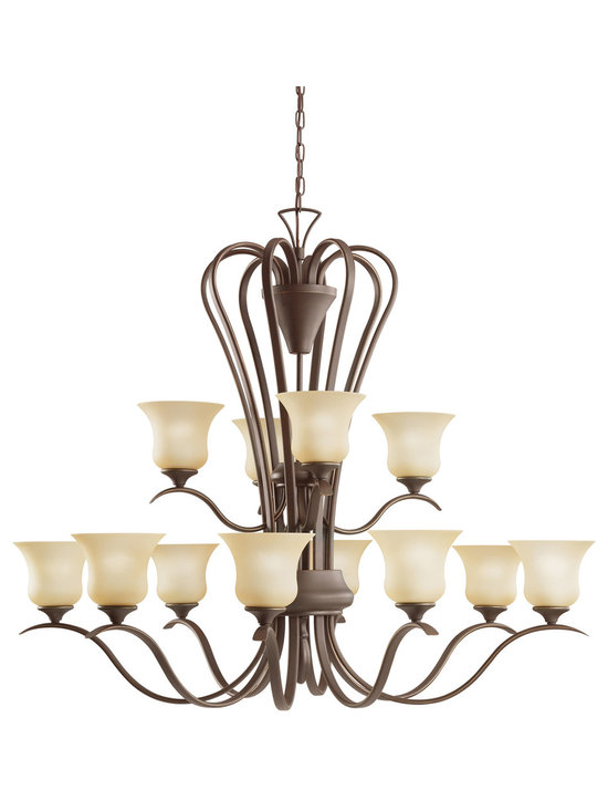 Grandiose Chandeliers - Wedgeport - Chandelier 12Lt