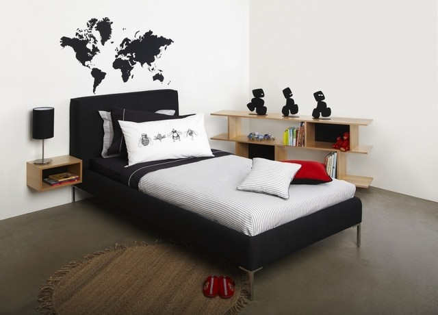 World Map Sticker modern decals
