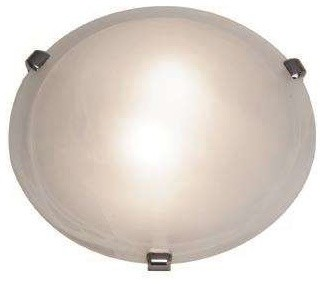Access Lighting 23019-CH/WH Mona Modern Flush Mount modern-ceiling-lighting