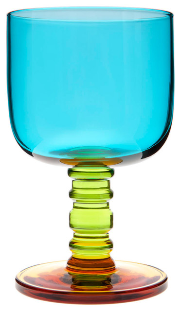 Sukat Makkaralla Stemware by Marimekko modern glassware