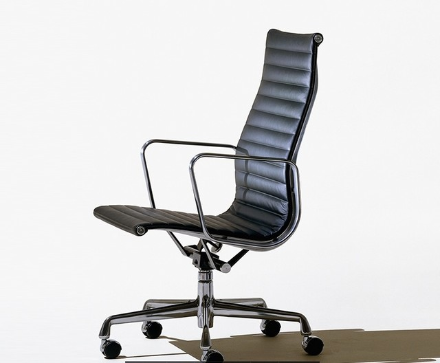 Eames aluminum group executive chair herman miller for Modern executive office chairs