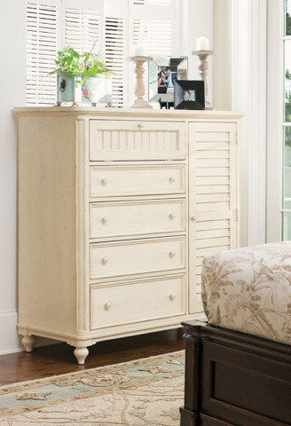Paula Deen Door Chest in Linen traditional-accent-chests-and-cabinets