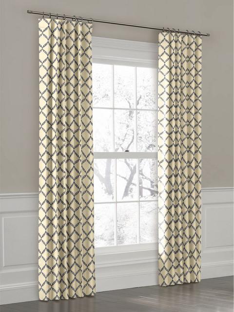 Trellis Curtain Panel - Curtains Design Gallery