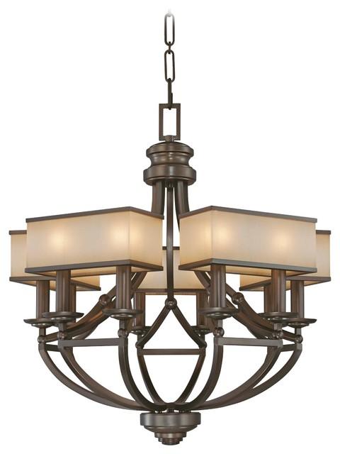 "Contemporary Walt Disney Signature Underscore 30"" Wide Chandelier craftsman-chandeliers"