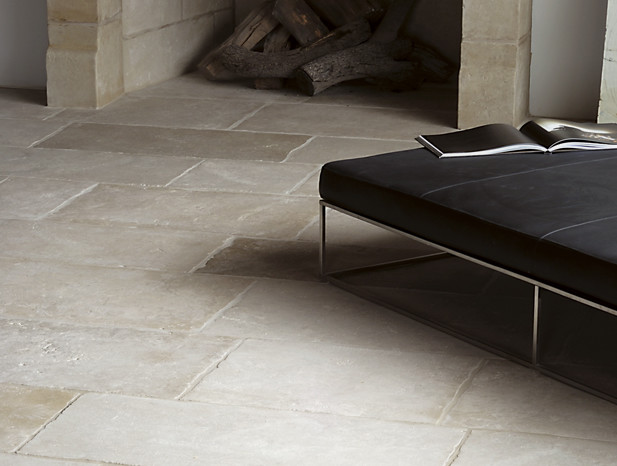 Aged stone floor contemporary wall and floor tile austin by
