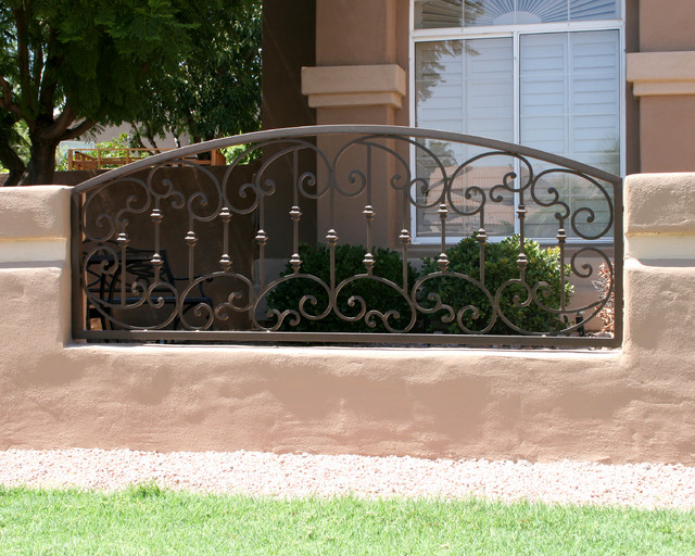 Tuscan Iron Railing By First Impression Security Doors
