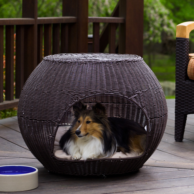 Outdoor Igloo Dog Bed Traditional Dog Beds other