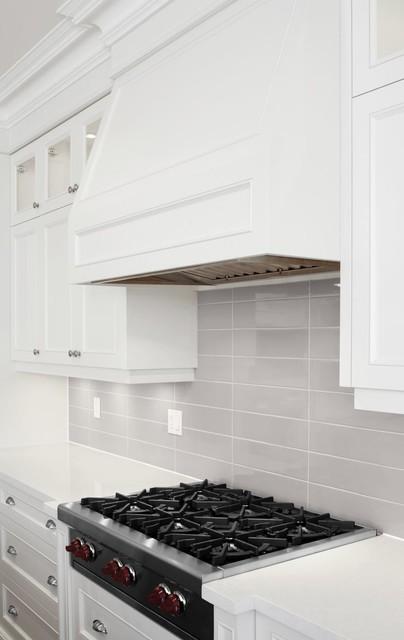 SOHO Wall Tile Collection- Warm grey kitchen backsplash