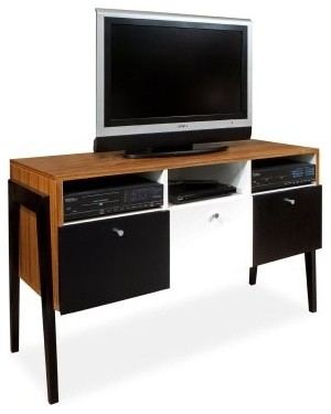 Reston TV Stand - Zebrano modern-dining-tables