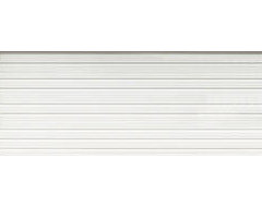 Ideal 22' x 8' White Ribbed Insulated Torsion Spring Garage Door at Menards
