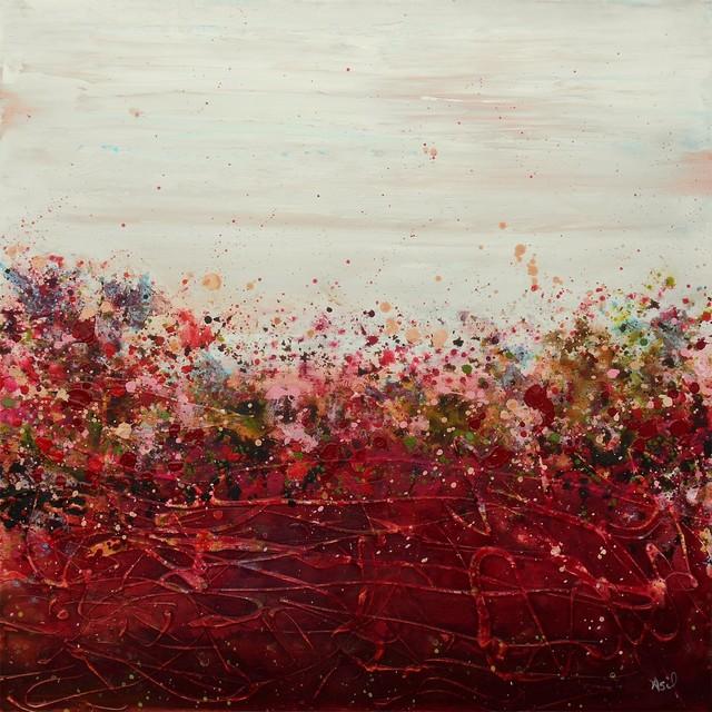"""Rose Pasture"" Artwork contemporary-paintings"