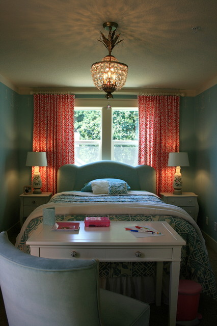 Girl's Dream Bedroom - No Boys Allowed traditional-kids