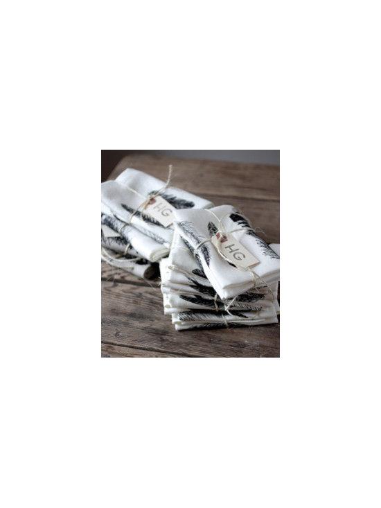 Feather Tea Towel -